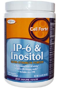 Ip6 inositol cancer