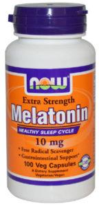 10 mg Melatonin pills.